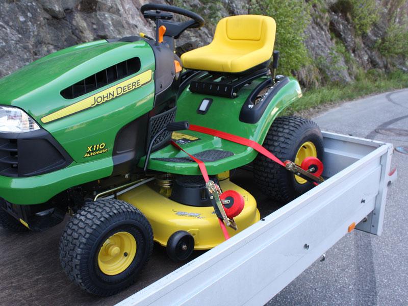 Quickloader tractor John Deere